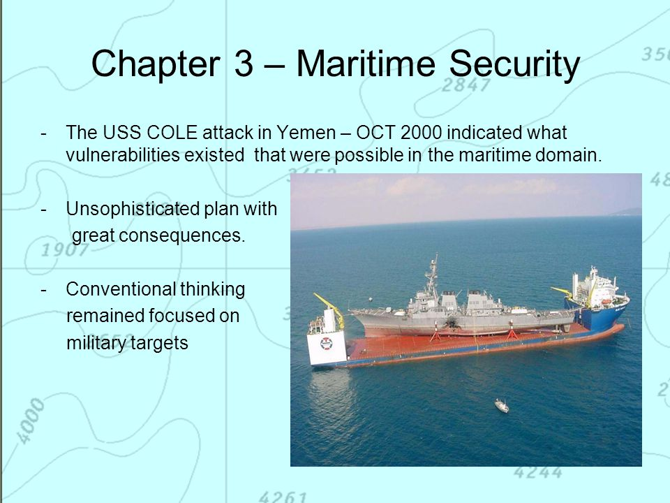 Chapter 3 – Maritime Security