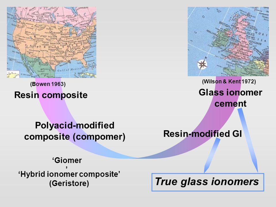 'Hybrid ionomer composite' (Geristore)