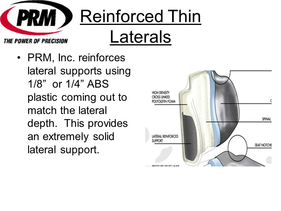 Reinforced Thin Laterals