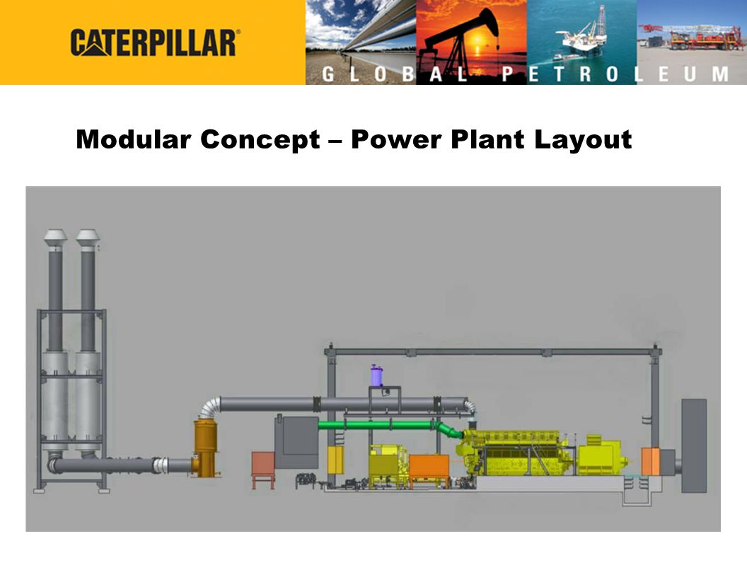 Modular Concept – Power Plant Layout