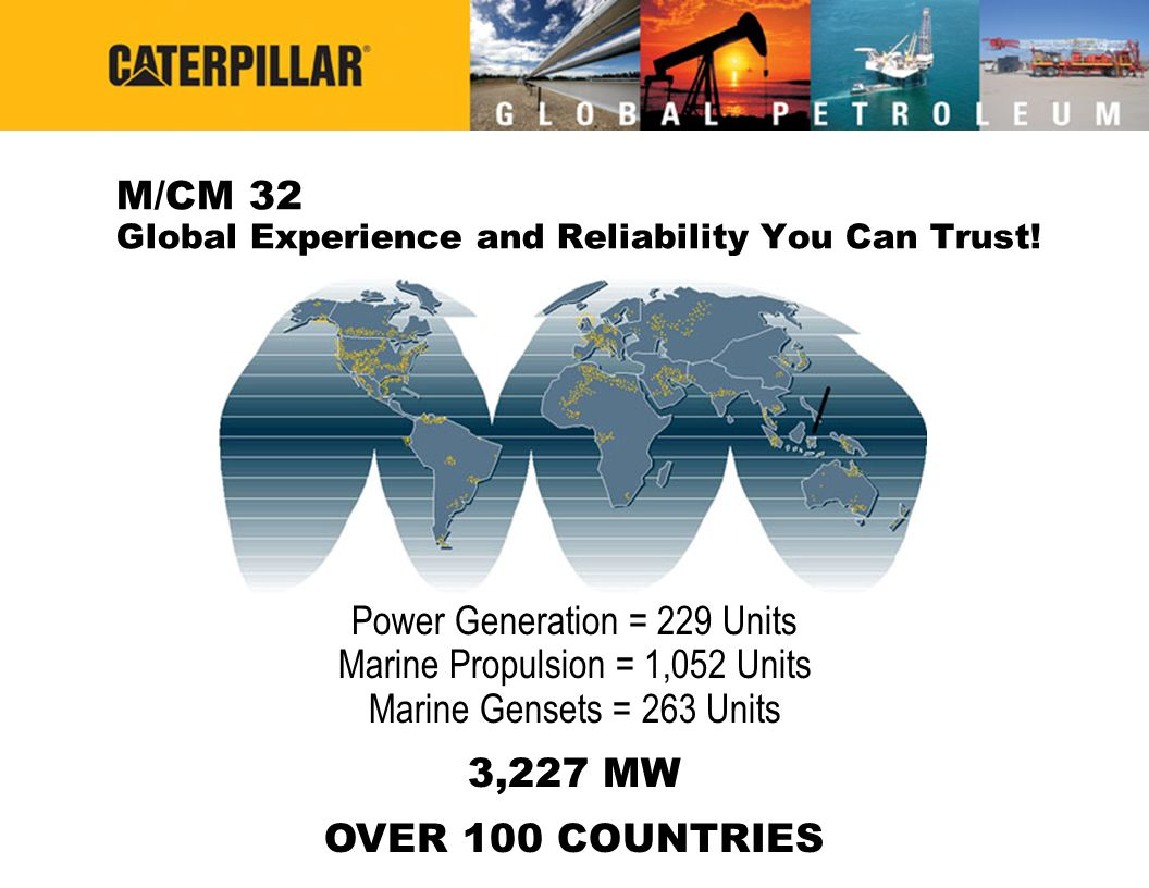 M/CM 32 Global Experience and Reliability You Can Trust!