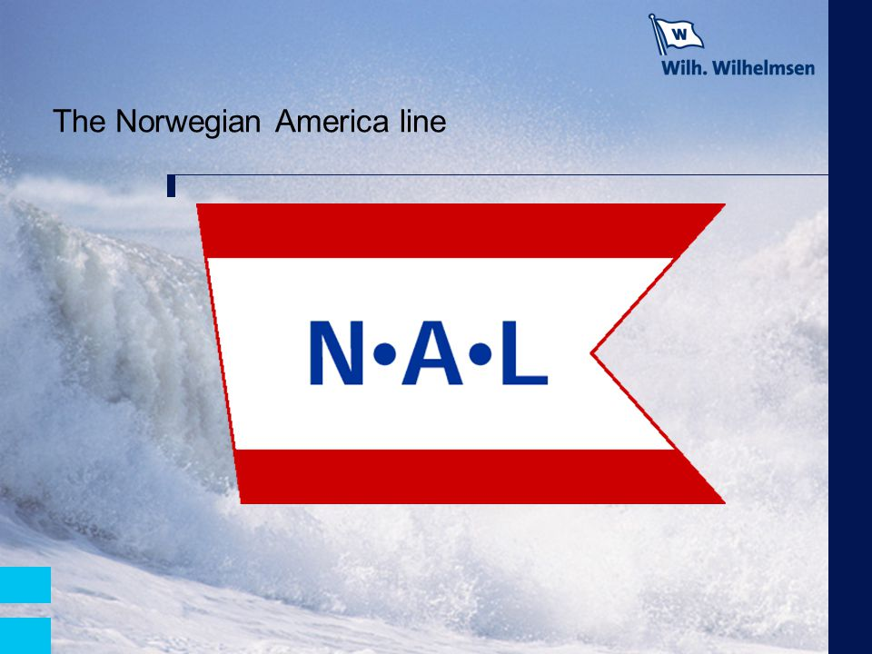 The Norwegian America line
