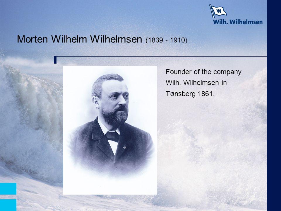 Morten Wilhelm Wilhelmsen (1839 - 1910)