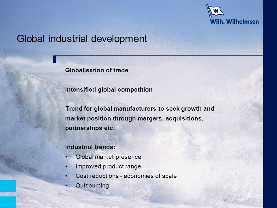 Global industrial development