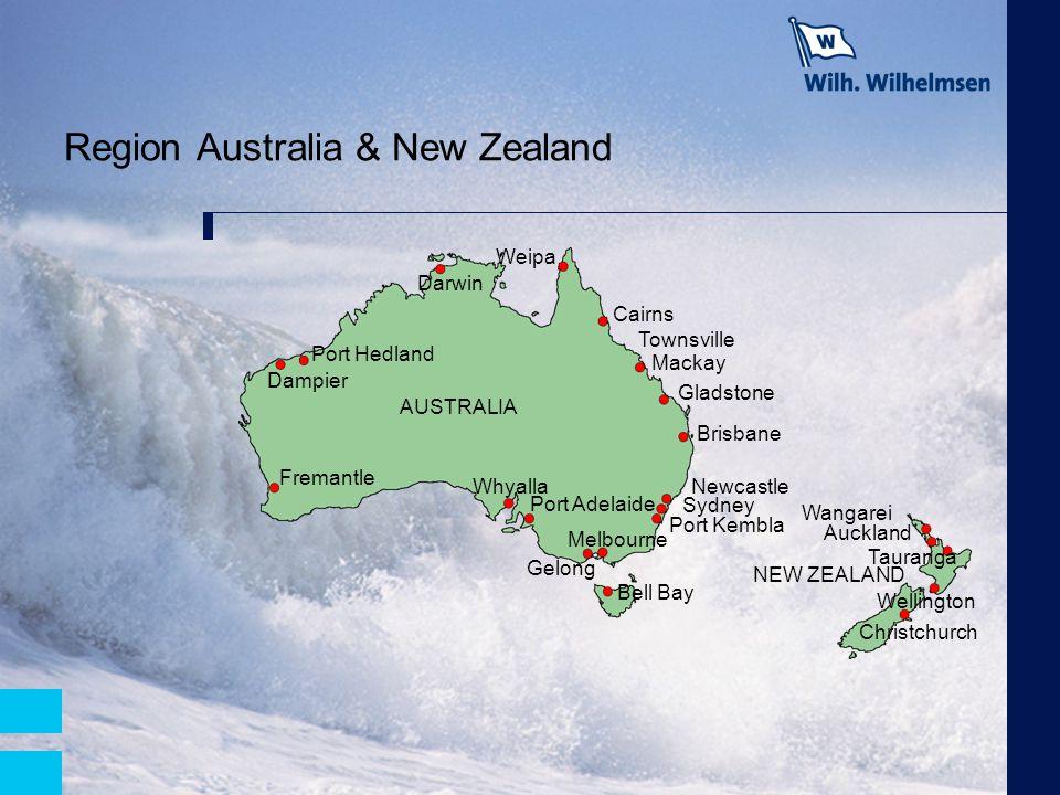 Region Australia & New Zealand