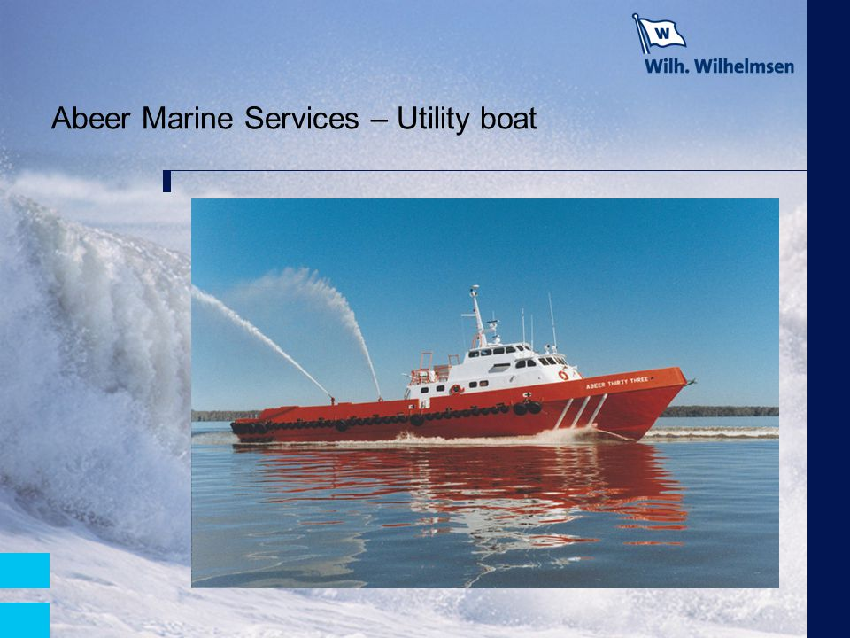 Abeer Marine Services – Utility boat