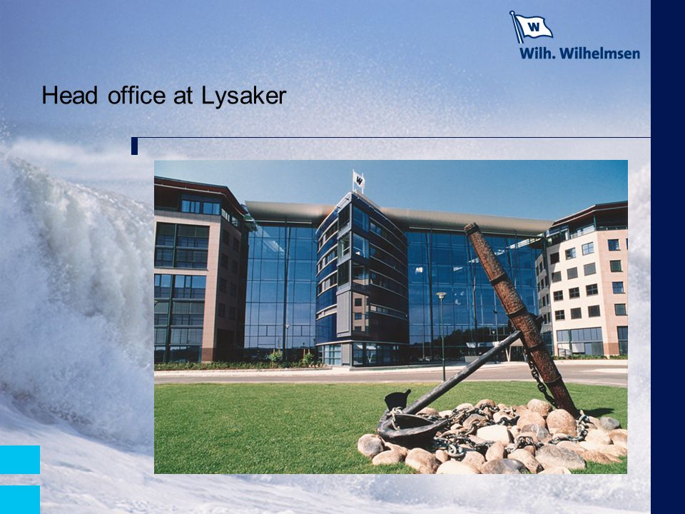 Head office at Lysaker