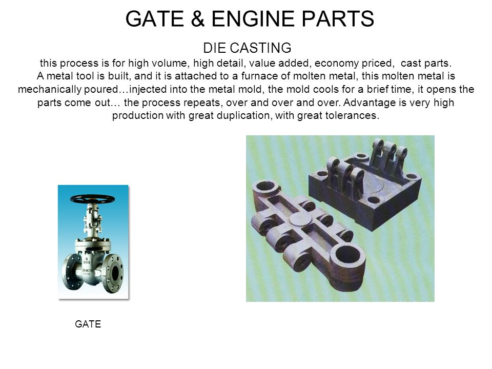 GATE & ENGINE PARTS