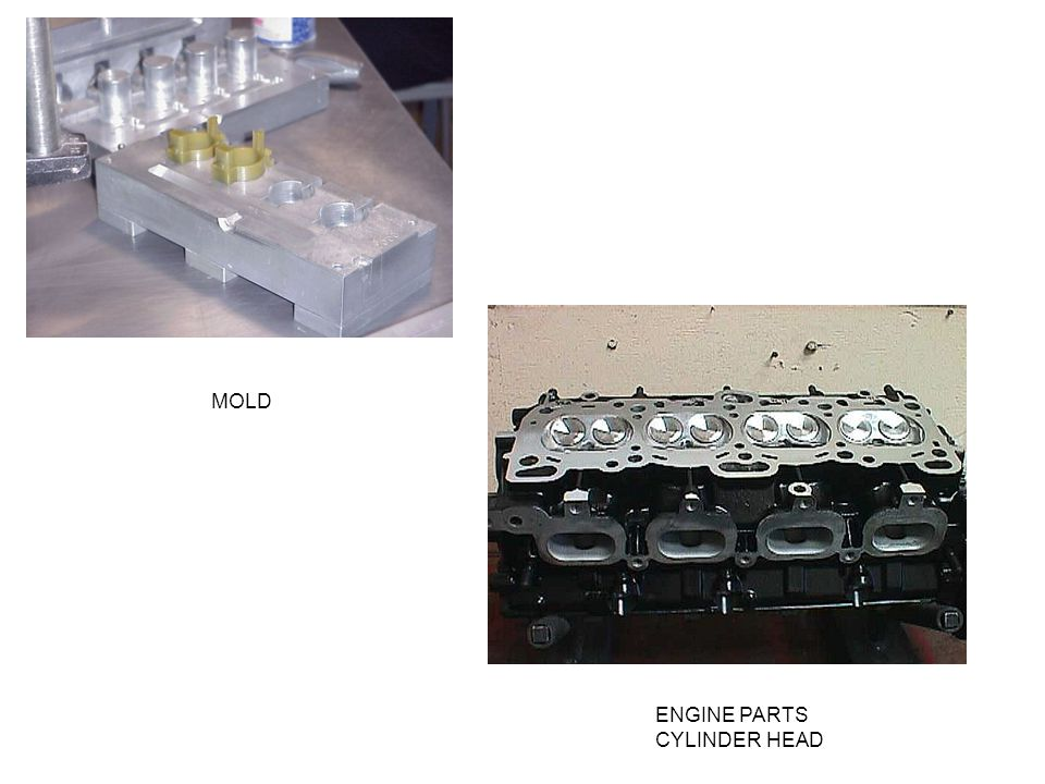 MOLD ENGINE PARTS CYLINDER HEAD