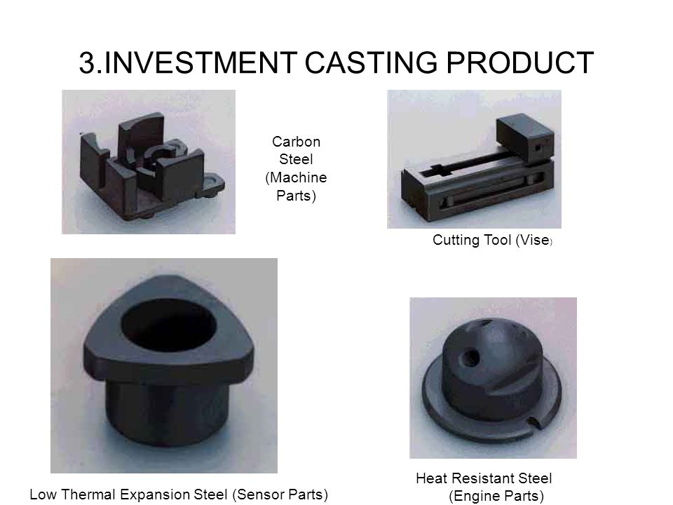3.INVESTMENT CASTING PRODUCT