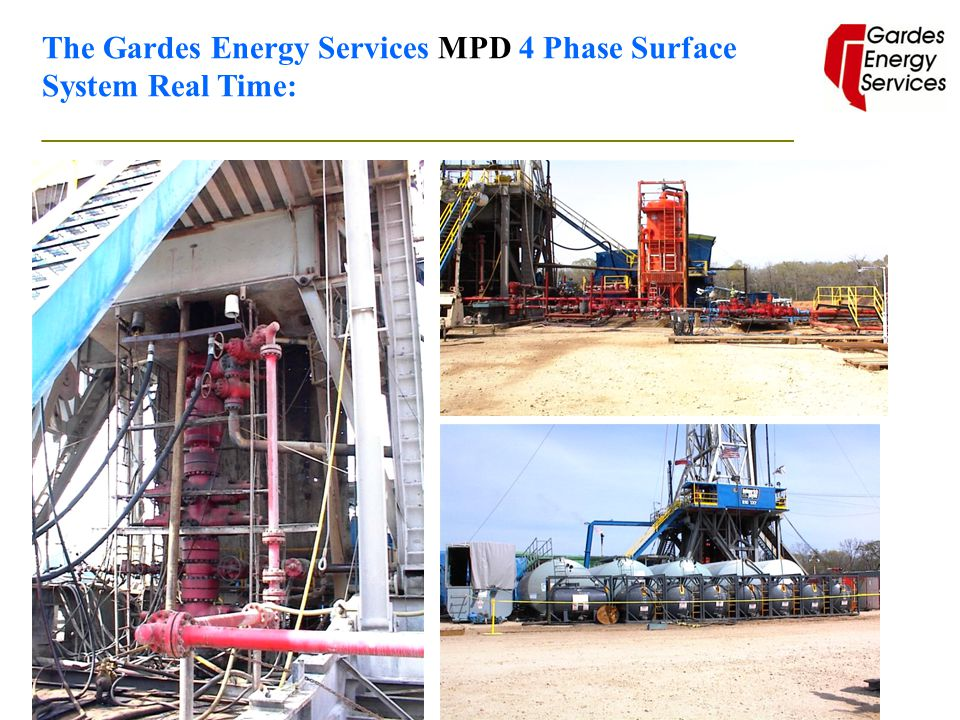 The Gardes Energy Services MPD 4 Phase Surface System Real Time: _______________________________________________