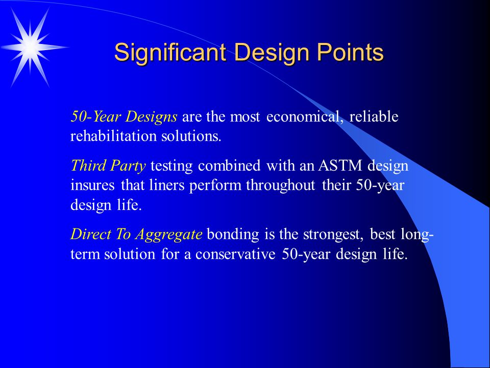 Significant Design Points