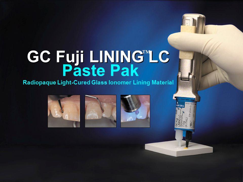 GC Fuji LINING LC Paste Pak ™