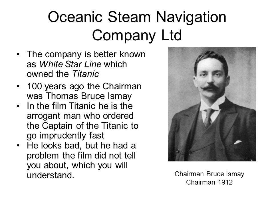 Oceanic Steam Navigation Company Ltd