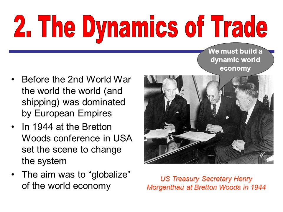 We must build a dynamic world economy