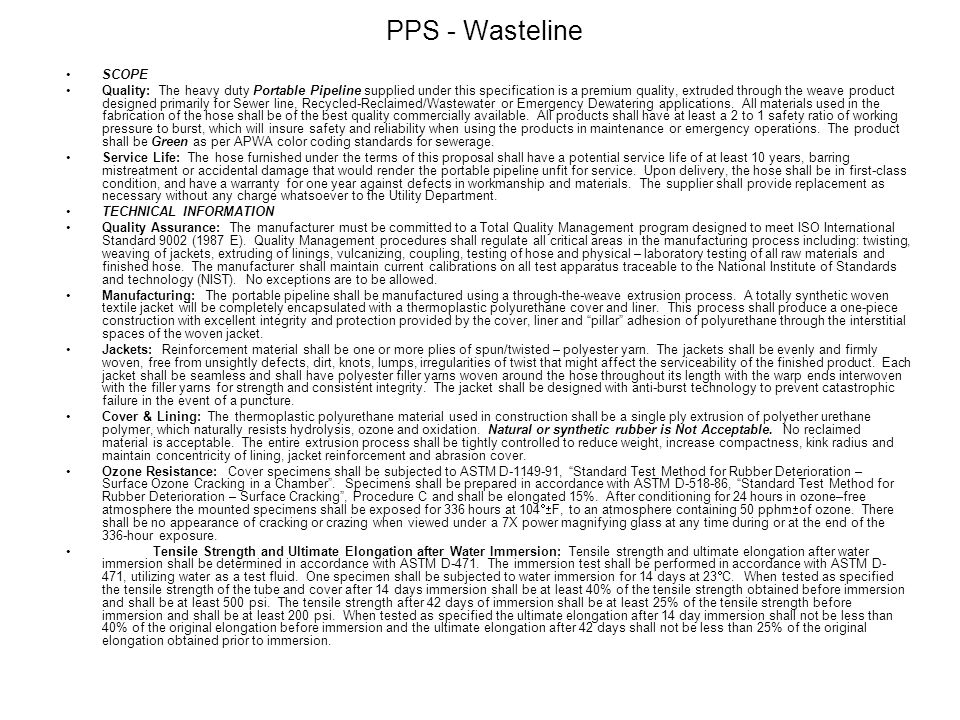 PPS - Wasteline SCOPE.