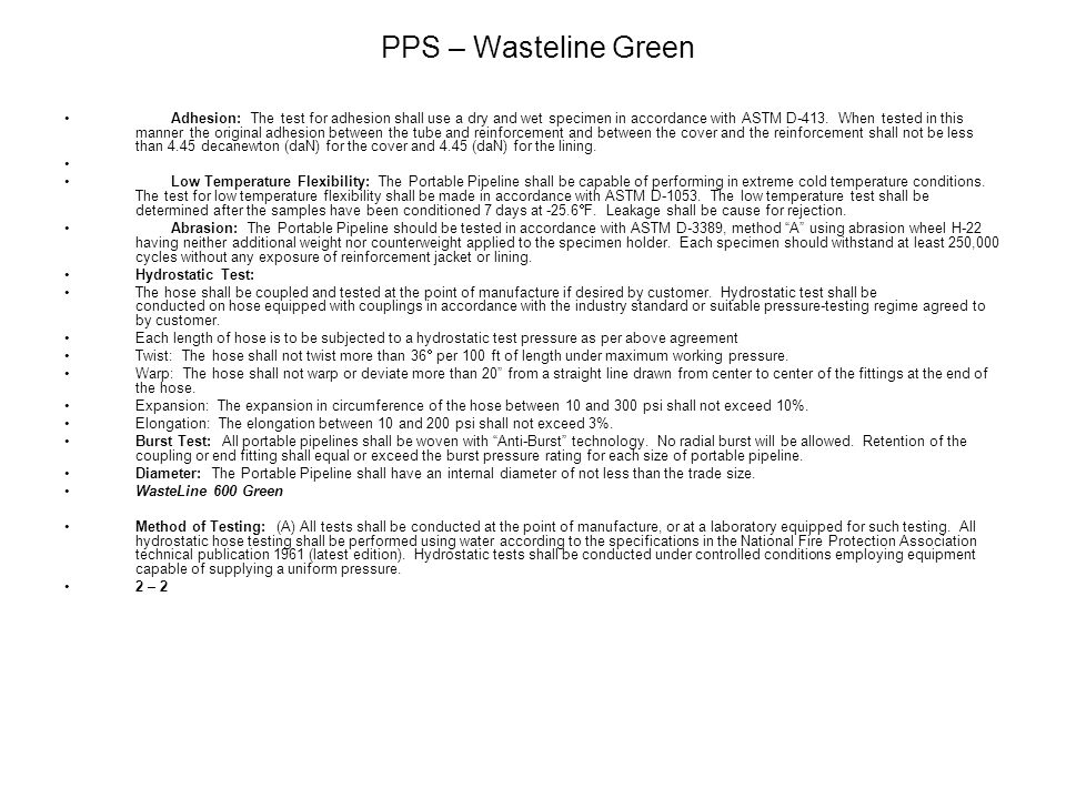 PPS – Wasteline Green