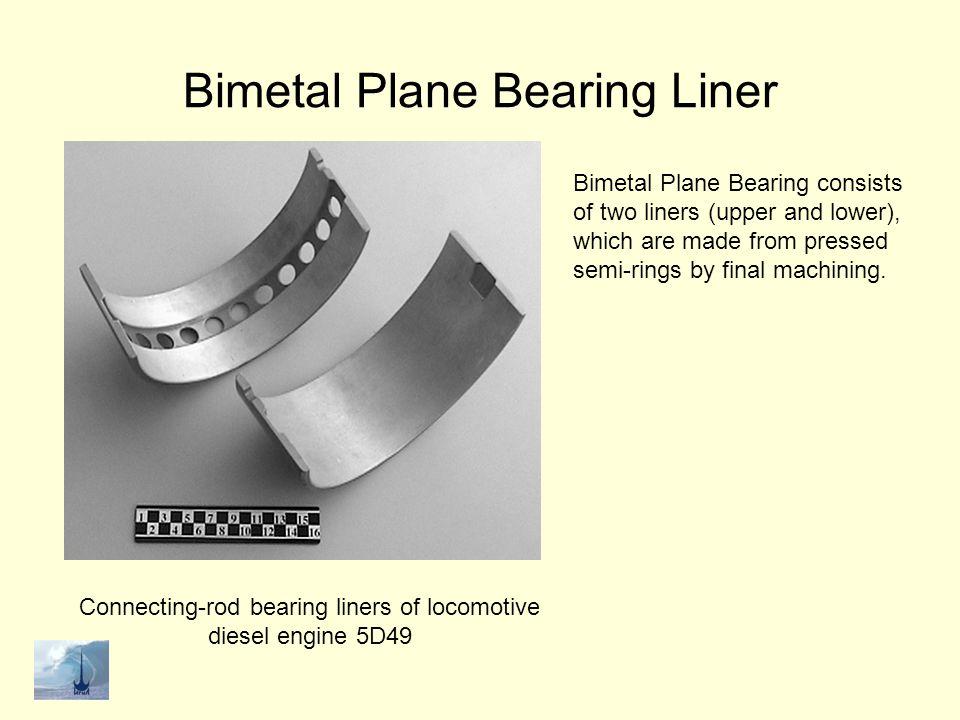 Bimetal Plane Bearing Liner