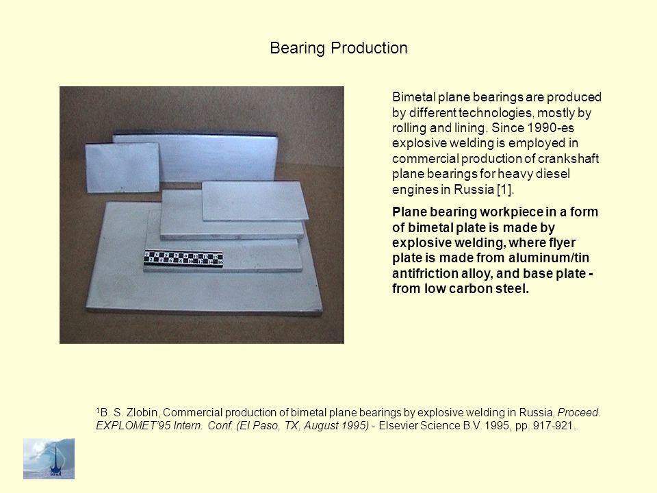 Bearing Production