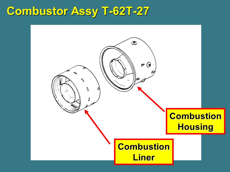 Combustor Assy T-62T-27 Combustion Housing Combustion Liner
