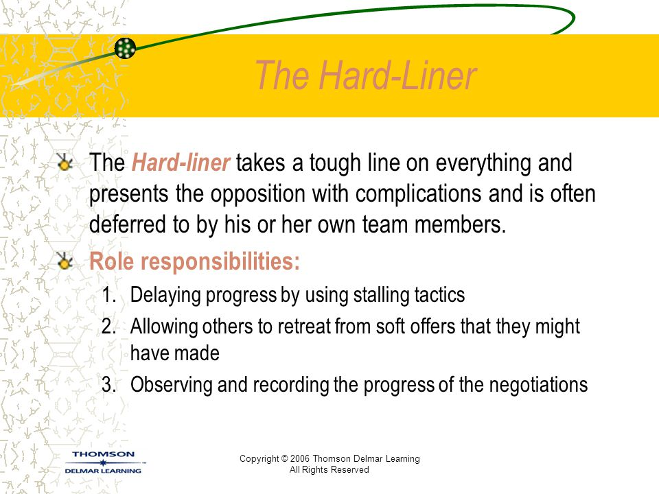 The Hard-Liner