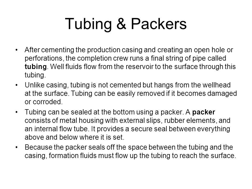 Tubing & Packers