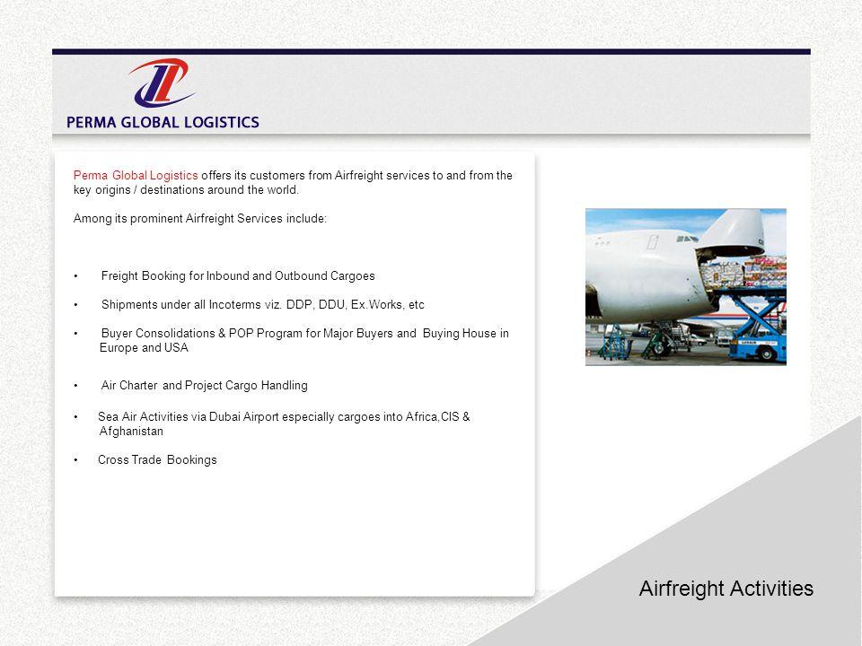 Airfreight Activities