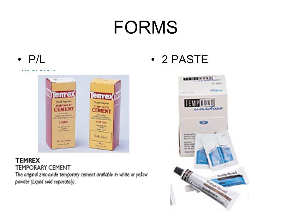 FORMS P/L 2 PASTE