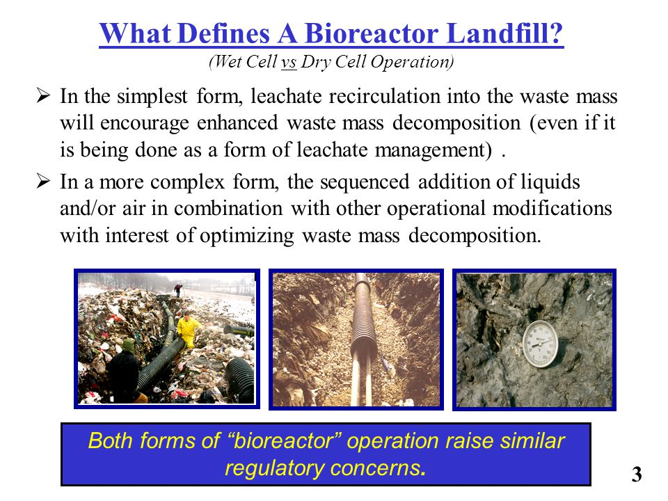 What Defines A Bioreactor Landfill (Wet Cell vs Dry Cell Operation)