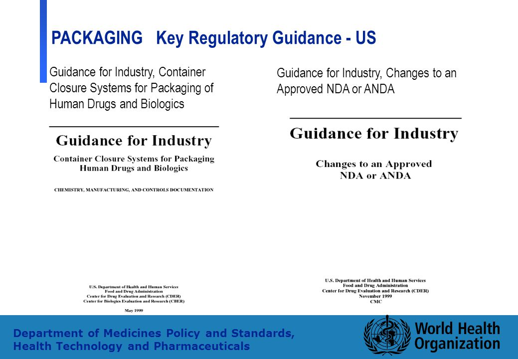 Guidance for Industry, Changes to an Approved NDA or ANDA