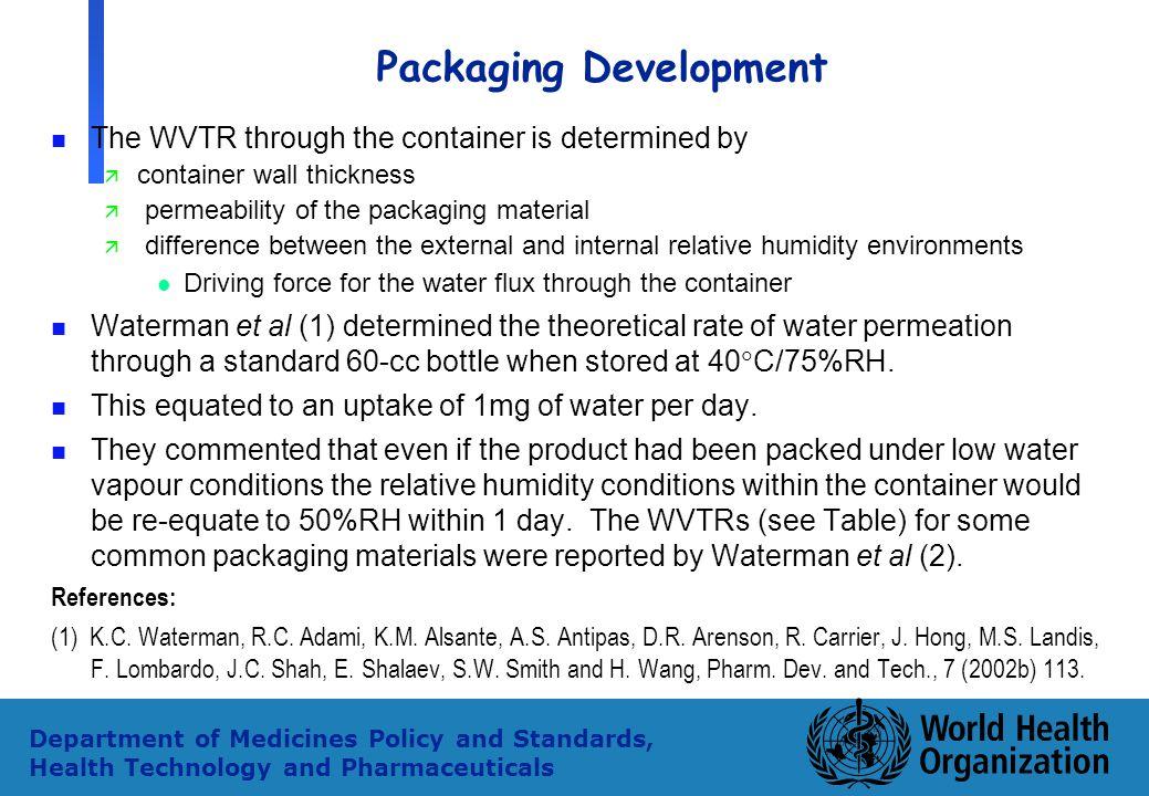 Packaging Development