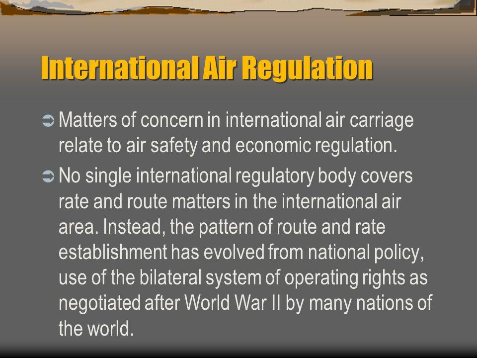 International Air Regulation
