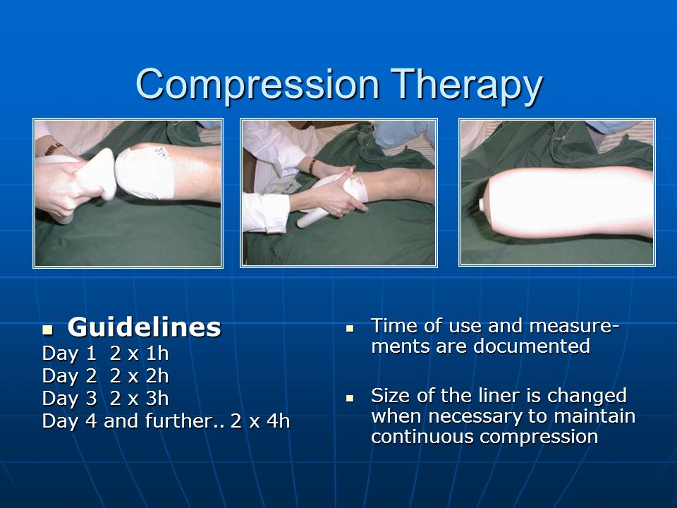Compression Therapy Guidelines