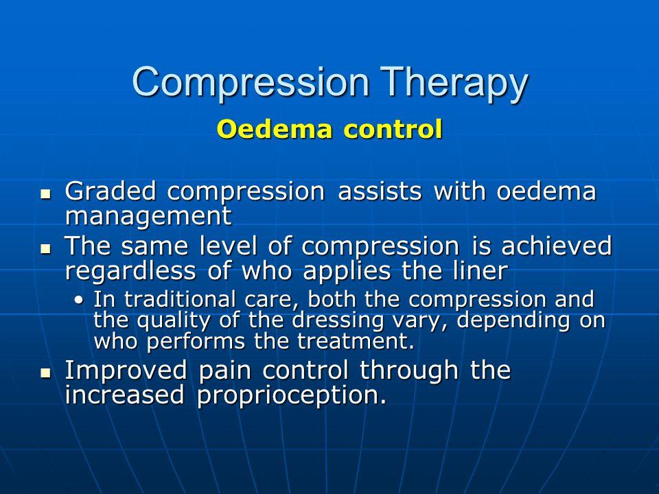 Compression Therapy Oedema control