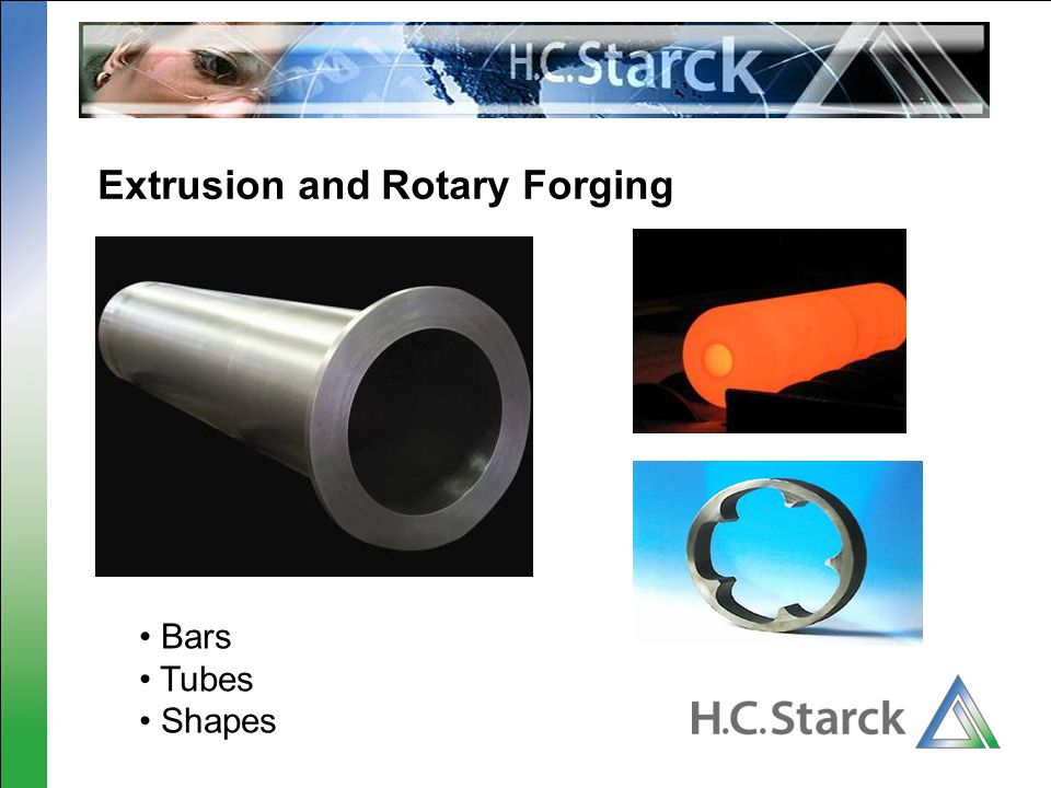 Extrusion and Rotary Forging