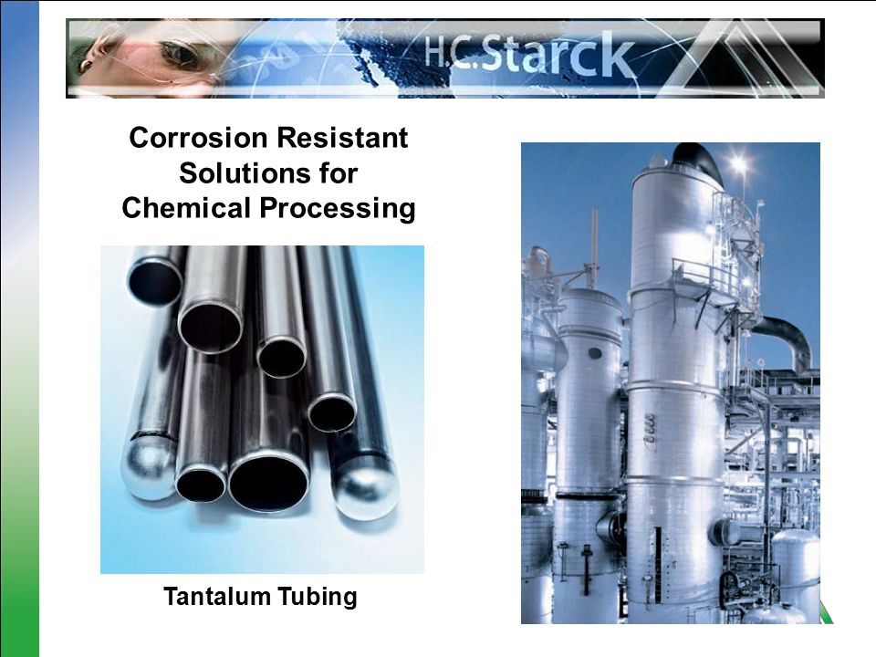 Corrosion Resistant Solutions for Chemical Processing