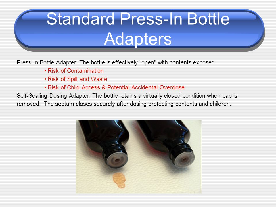 Standard Press-In Bottle Adapters