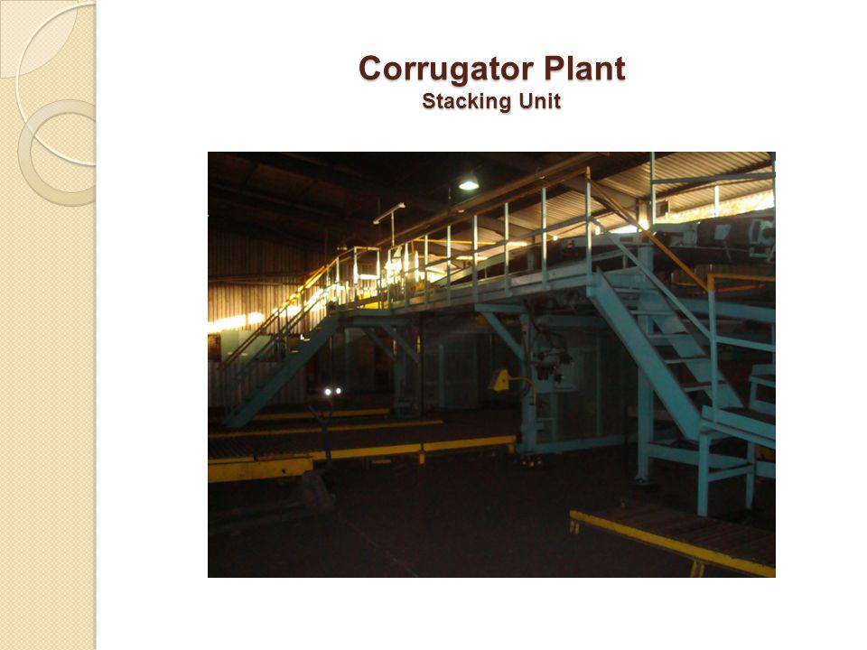 Corrugator Plant Stacking Unit
