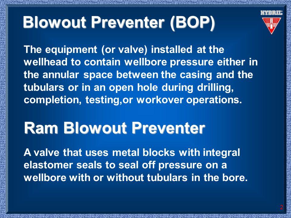 Blowout Preventer (BOP)