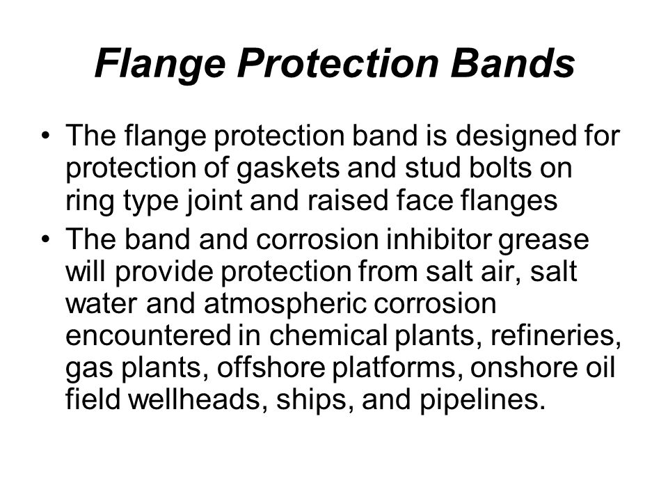 Flange Protection Bands