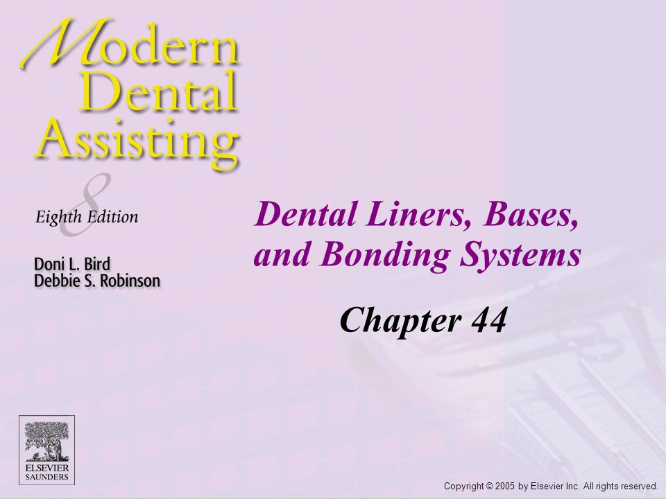 Dental Liners, Bases, and Bonding Systems
