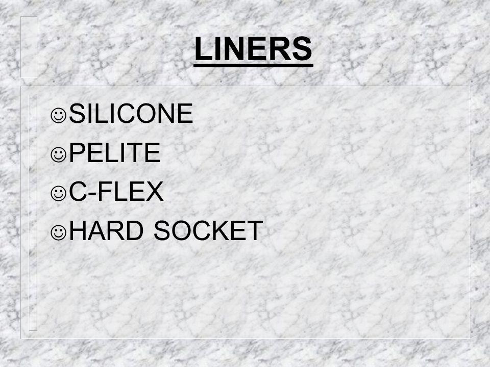 LINERS SILICONE PELITE C-FLEX HARD SOCKET