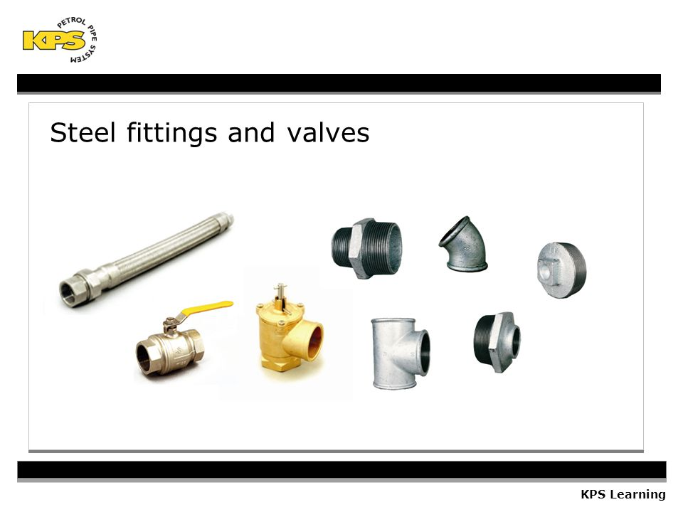 Steel fittings and valves