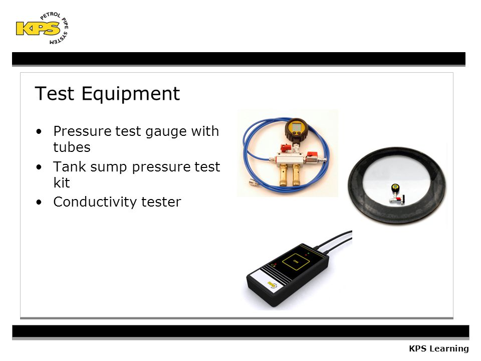 Test Equipment Pressure test gauge with tubes