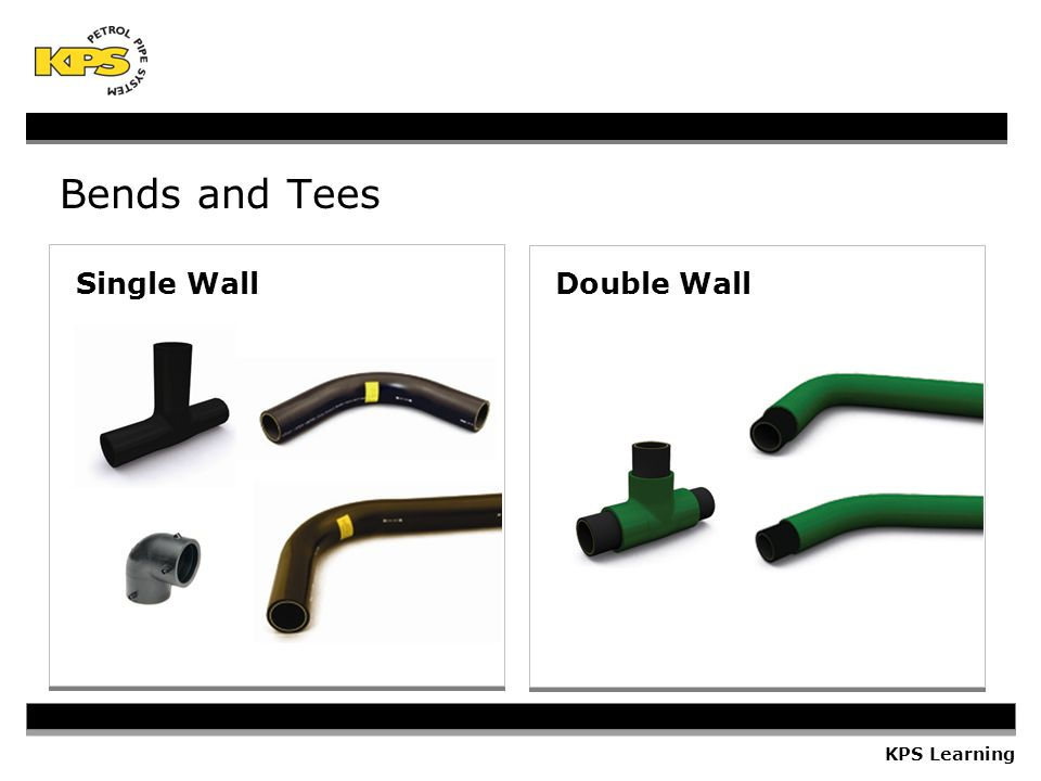 Bends and Tees Single Wall Double Wall