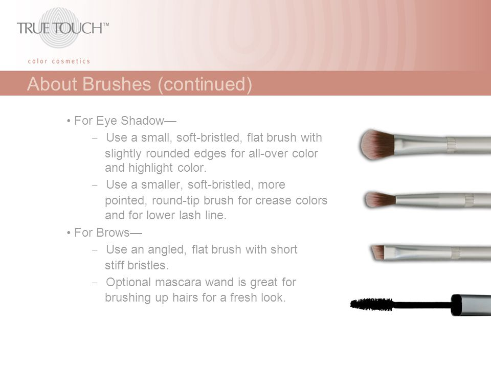 About Brushes (continued)