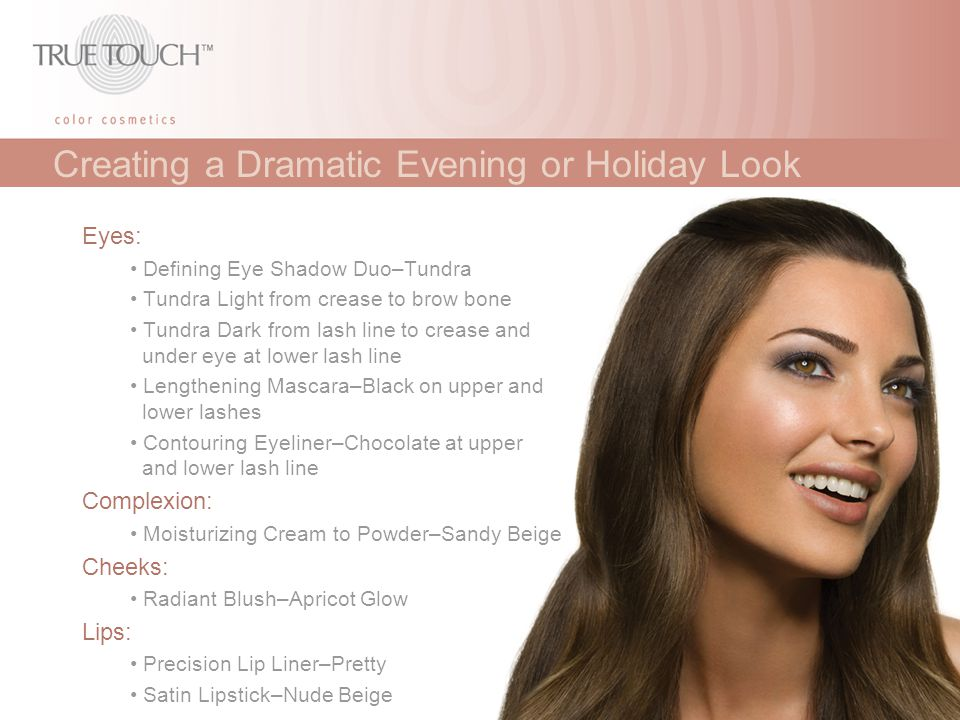 Creating a Dramatic Evening or Holiday Look