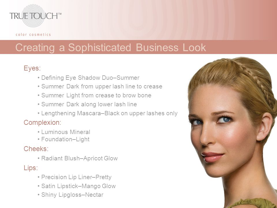 Creating a Sophisticated Business Look