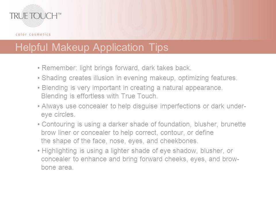 Helpful Makeup Application Tips