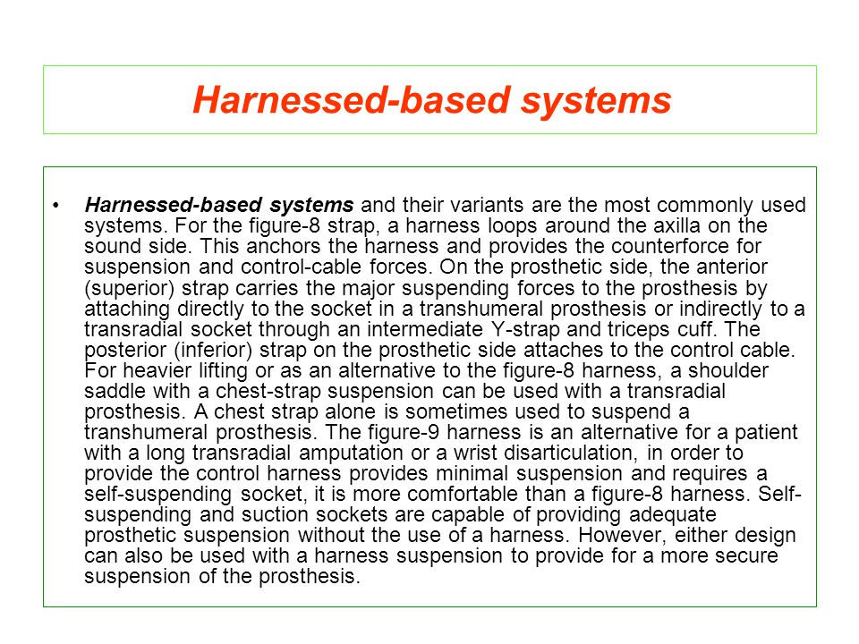 Harnessed-based systems